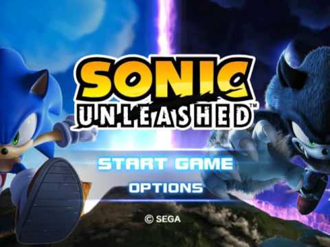 Music Swaps - Sonic Unleashed (PS2) - Main Menu
