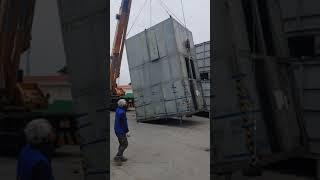 기계운반 이전설치#중량물#도비