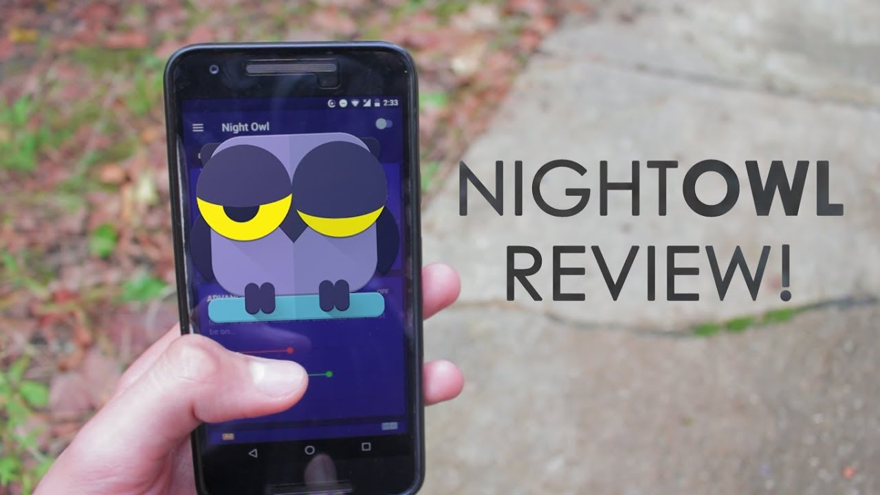 Protect Your Eyes At Night!: NightOwl App Review