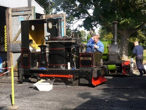 Chaloner With Cab - Leighton Buzzard Narrow Gauge Railway Great Slate Quarry Fest Sept 2012