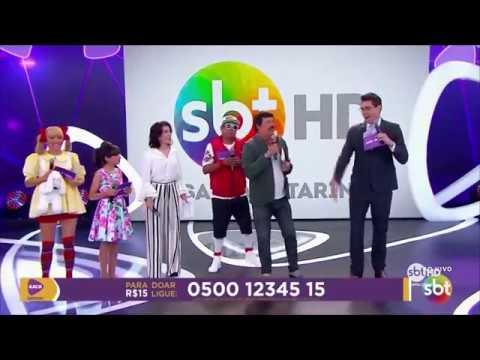 Fernando Machado do SBT SC no Teleton