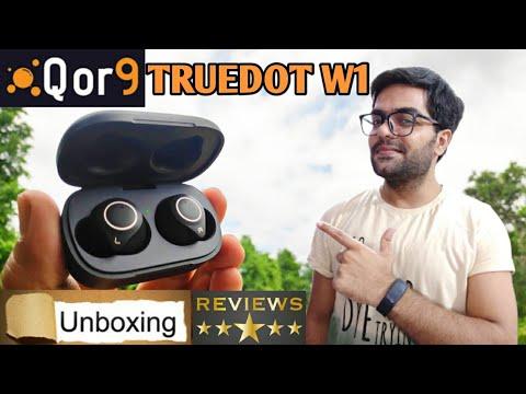Best Premium Earbuds Under 3000 ?? QOR9 W1 True Wireless Earbuds UNBOXING / Reviews 🎧🎧⭐⭐