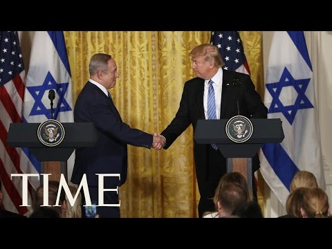 President Donald Trump And Prime Minister Netanyahu Give Remarks In Israel | TIME