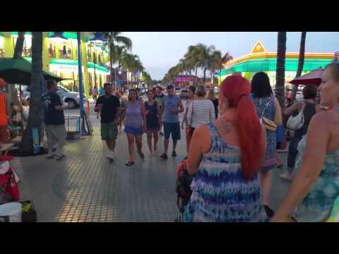 Fort Myers Beach Friday Night