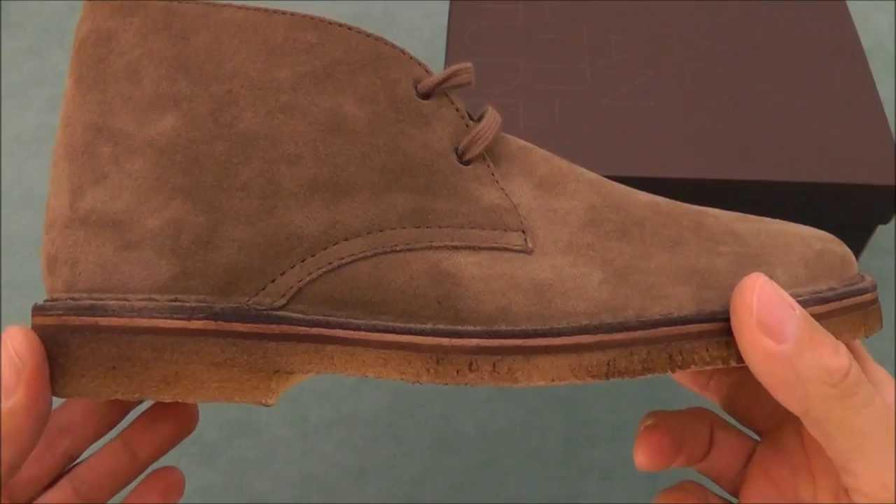 pulire la para delle scarpe clarks