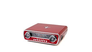 Ion Audio Superior 3Speed 7In1 Bluetooth Turntable