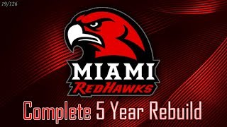 2-OT National Championship! | Miami of Ohio 5-Year Rebuild | NCAA Football 14 (19/126)