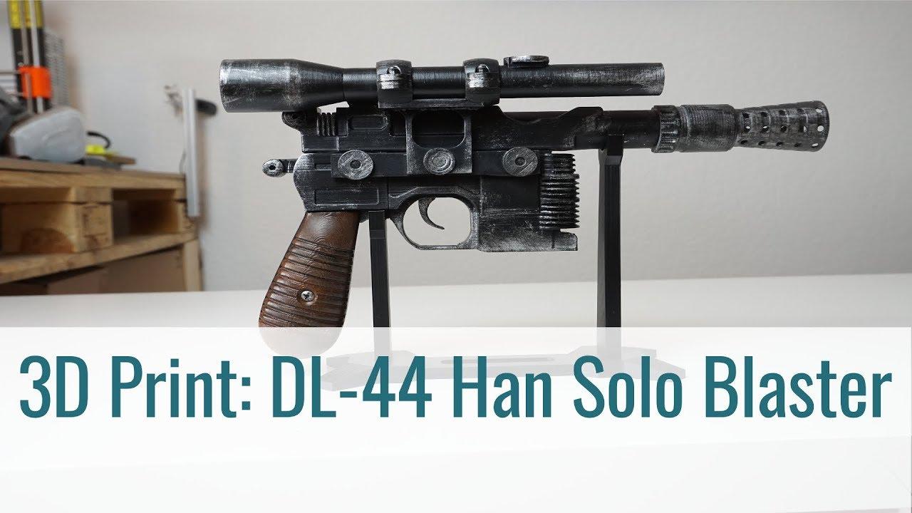 Selfmade Han Solo Blaster Prop
