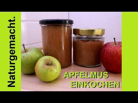 🍎🍏-apfelmus-🍎🍏-einkochen-und-haltbar-machen!-rezept-ohne-zucker-/-zuckerfrei-😊