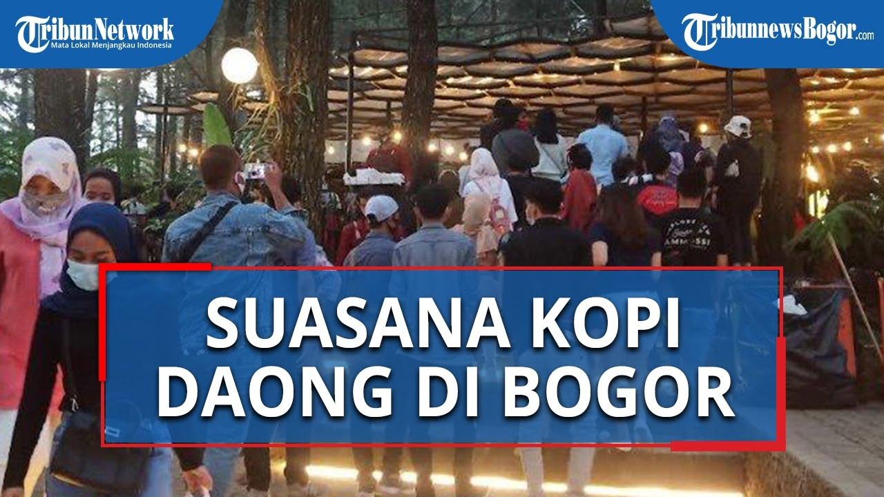 Suasana Kopi Daong Bogor saat Akhir Pekan, Pengunjung Rela Antre