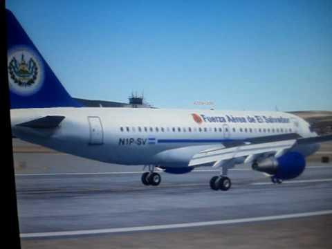 Flight Simulator Avión Presidencial Youtube