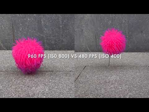Sony RX100 VII Slow Motion Comparison - 960, 480 And 240 Fps
