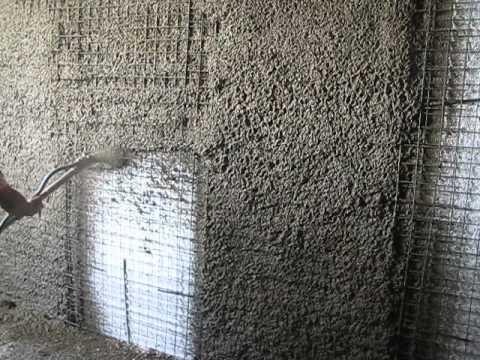 Ps 3000 Plastering On 3d Panels With Cement Plaster With