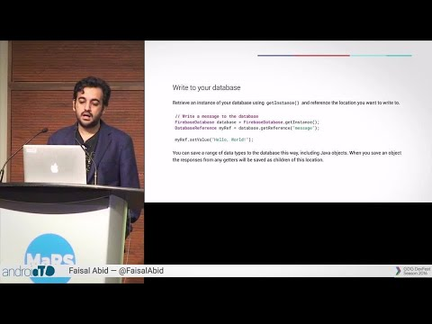 Using Firebase Realtime Database To Build A Chat Application In 25 Minutes! – AndroidTO 2016