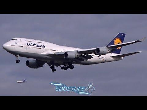 Lufthansa - Boeing 747-430 D-ABVS - Landing at Frankfurt am Main EDDF/FRA