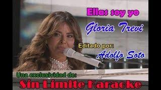 Gloria Trevi - Ellas Soy Yo - Karaoke DEMO