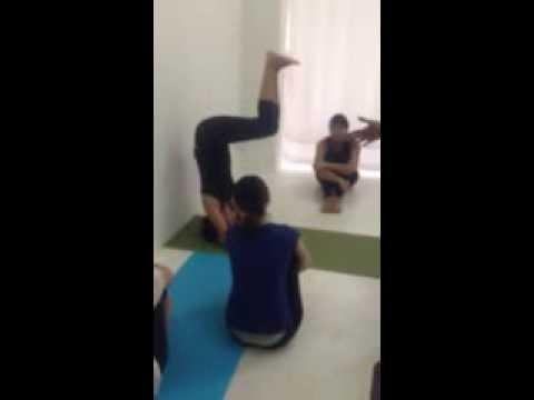 Yoga training Head stand by Union Yoga Ayurveda I Yoga Classes I Yoga Training