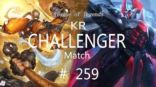 Korea Challenger Match #259/LO…