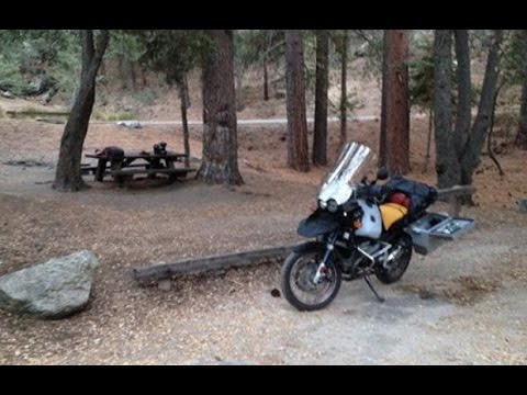 LET'S RIDE Fern Basin Campground - softypapa California adventures - BMW R  1150 GSA
