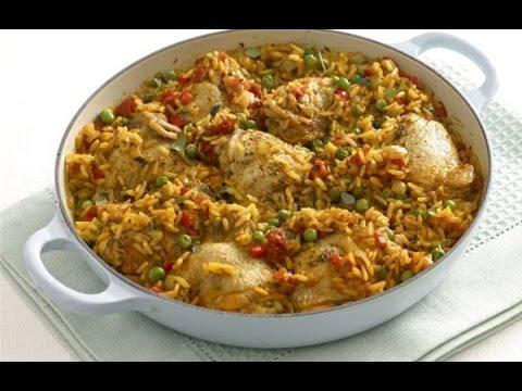How To Make: Arroz Amarillo con Pechuga de Pollo Cuban Style  (Yellow rice and chicken)