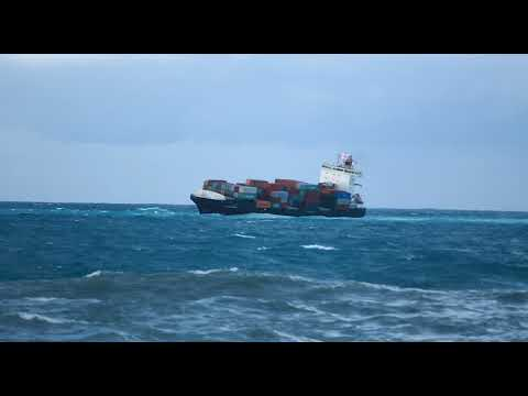 Cargo ship grounded off Tripoli shores