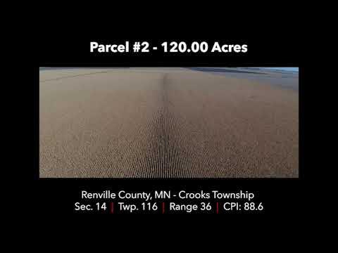 Renville County Farmland Auction Dec 11th 2017 - Parcel #2 120.00 Acres