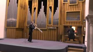 F.Liszt, Hosannah / A.Guilmant morceau symphonique per trombone ed organo