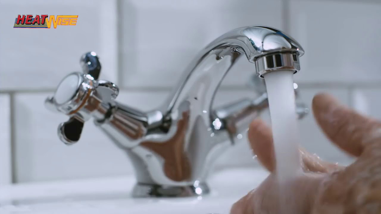 Bathroom taps at Heatwise Tullamore - YouTube