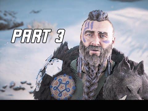 Horizon Zero Dawn Walkthrough Part 3 - ROST (PS4 Pro Let's Play Commentary)
