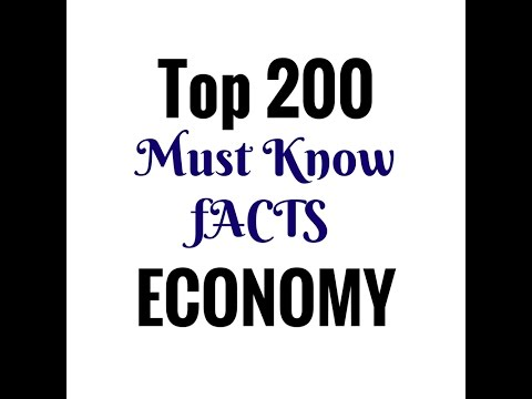 Top 200 INDIAN Economy Facts (Hindi Medium) || SSC || IAS || PCS || Railway || Banking