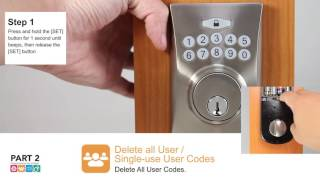 Electronic Deadbolt - User Guide