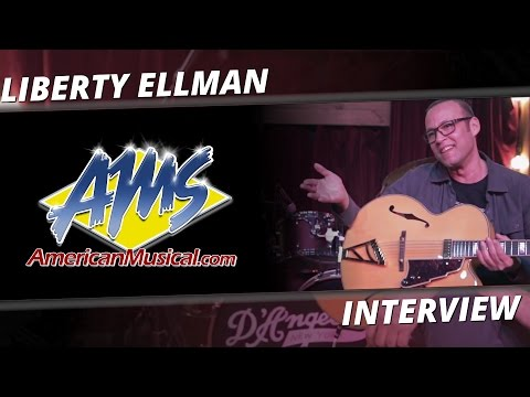 D'Angelico Liberty Ellman Interview - AMS Exclusive Interviews