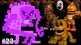 Golden Freddy Plays: FNAF World #23 || FIGHTING THE ULTIMATE VILLAIN