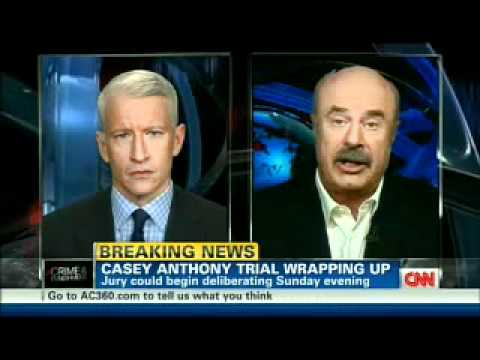 Dr. Phil & Anderson Cooper Discuss the Casey Anthony Trial