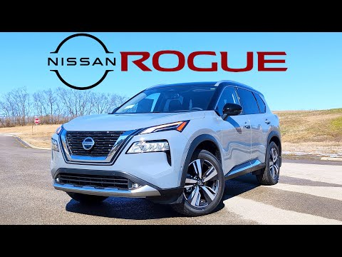 2021 Nissan Rogue Platinum // Enough Luxury for $39,000??