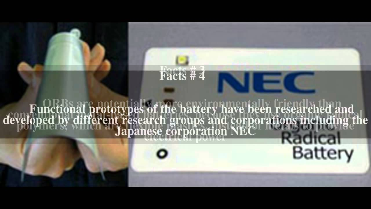 Organic radical battery Top # 9 Facts - YouTube