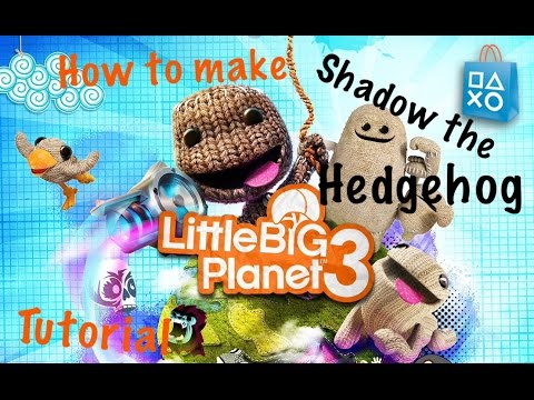 LBP3 Tutorial - How to make shadow the hedgehog costume