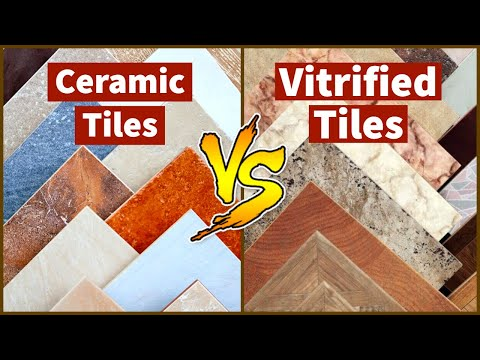 Difference Between Vitrified Tiles And Ceramic Tiles Easy Nirman