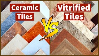 Difference Between Vitrified Tiles and Ceramic Tiles | Easy Nirman