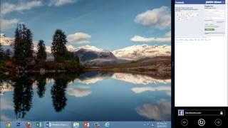 Windows 8 Tips Trucos Secretos  - 25 Acoplar el Escritorio con una Aplicación