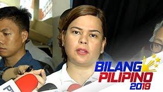 Honesty ng mga kandidato, hindi na raw dapat isyu ayon kay Mayor Sara Duterte