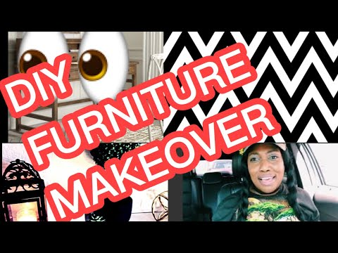 DIY Furniture makeover Reveal #VLOG