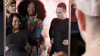 """Drag queen zachwycały się figurą Danyale. """"Jej pupa wygląda szałowo!"""" [Przemiana w stylu drag queen]"""