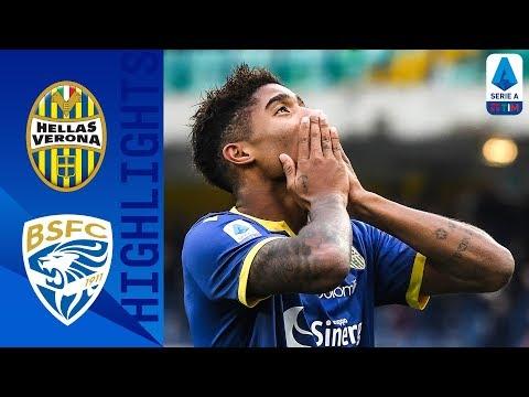 Verona 2-1 Brescia | Salcedo and Pessina on Target for Verona | Serie A