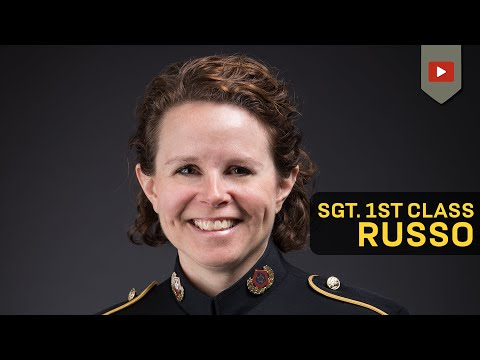The Star Spangled Banner: Army Sergeant First Class Erica Russo