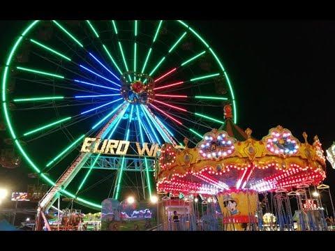 Outdoor activities: Amusement Park & FunFair Rides - Music: TheFatRat - Monody (feat. Laura Brehm)