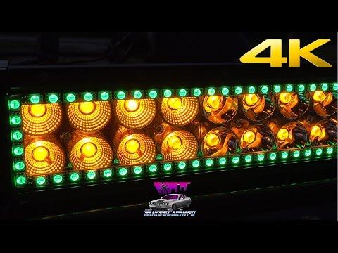 NICOLIGHT White/Amber LED Light Bar Overview