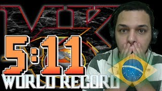 World Record Mortal Kombat 3 Arcade Speedrun 5:11 BySpeed !! Amazing Time!