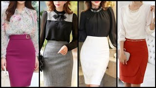most Attractive Office Wear Sk…
