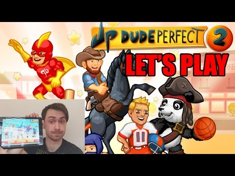 Let's Play Dude Perfect 2 - first 30 levels!